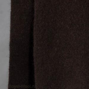Коричневый шарф шерсть яка