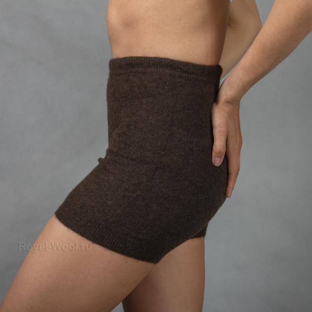 Зимние шерстяные шорты