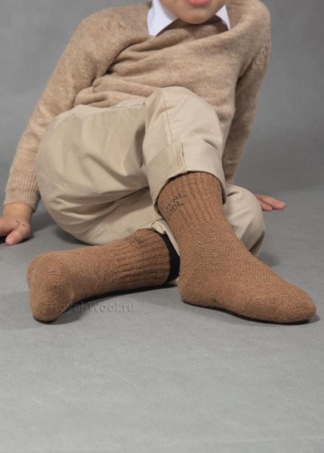 Детские верблюжьи носки