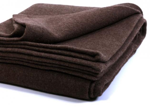 Одеяло из шерсти яка