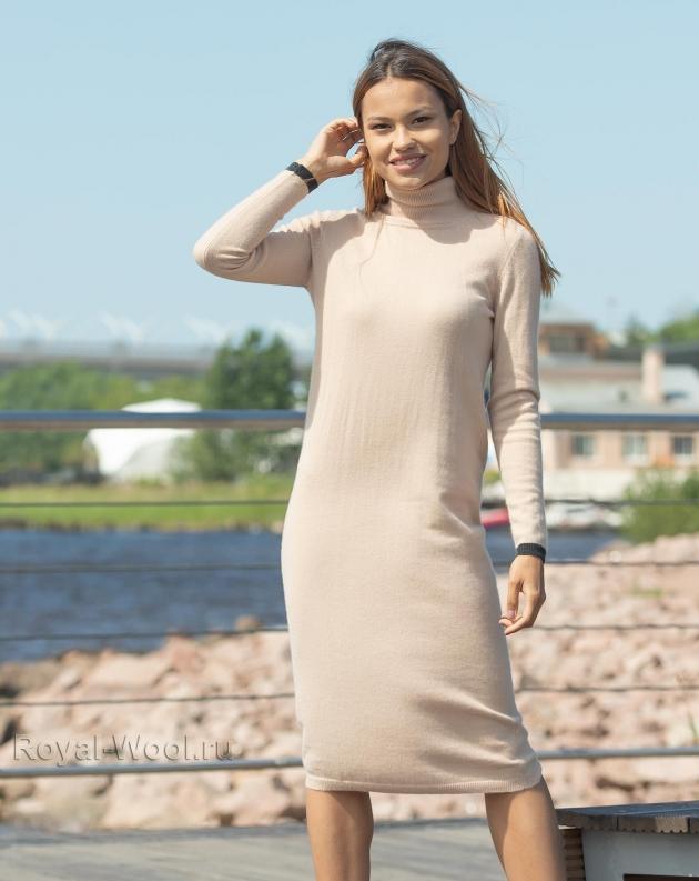 Платье кашемир шерсть