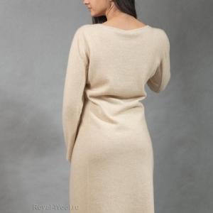 Платье кашемир светлое