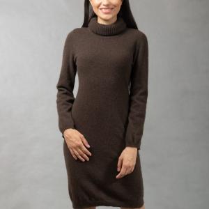 тонкое шерстяное платье