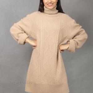 платье из верблюжьей шерсти