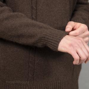 Пуловер мужской из шерсти яка