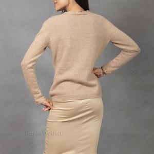 Пуловер женский из верблюжьей шерсти