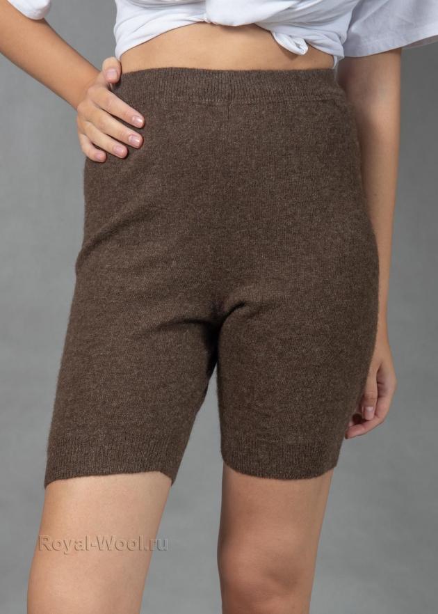 Шерстяные женские шорты под одежду