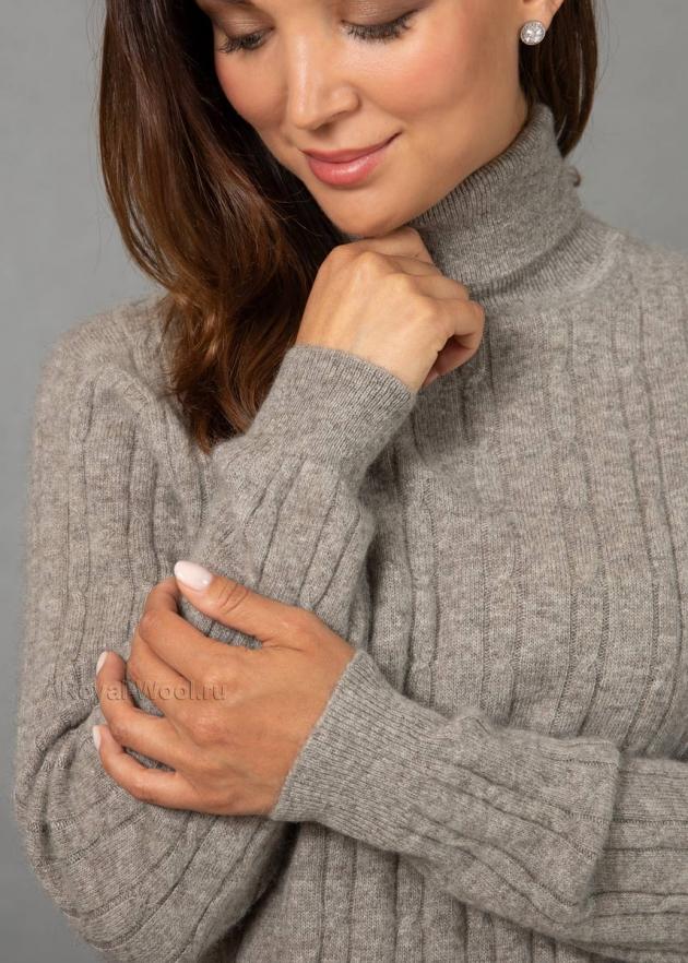 свитер шерстяной женский