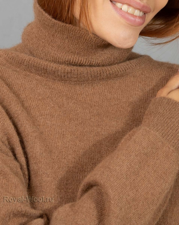 свитер тонкий из верблюжьей шерсти