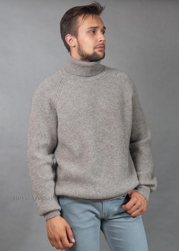 теплый свитер из шерсти яка