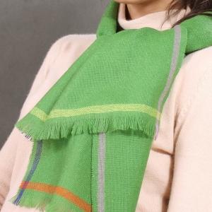 Тонкий шерстяной шарф