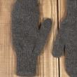 Варежки двойные шерсть яка