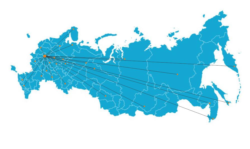 Карта клиентов Royal Wool