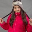 Шерстяная детская шапочка с ушками