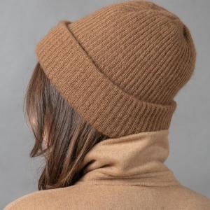 Комплект шапка шарф из верблюжьей шерсти фото5