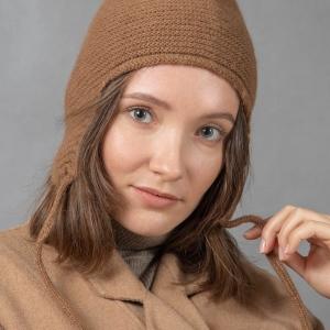 Комплект шарф и шапка-ушанка фото2