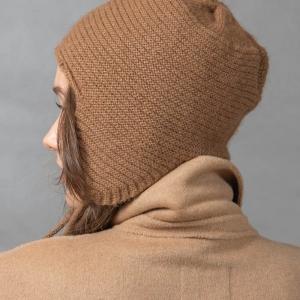 Комплект шарф и шапка-ушанка фото3
